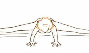 Как сесть на поперечный шпагат – упражнения в картинках