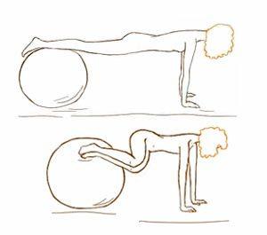 Упражнение для косых мышц живота